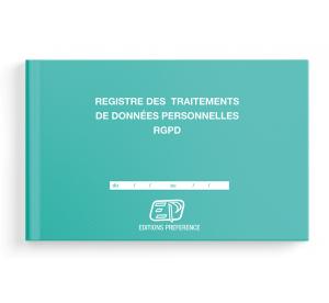 Registre des traitements de données personnelles RGPD