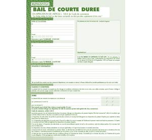 Bail de courte durée (3 ans maxi)