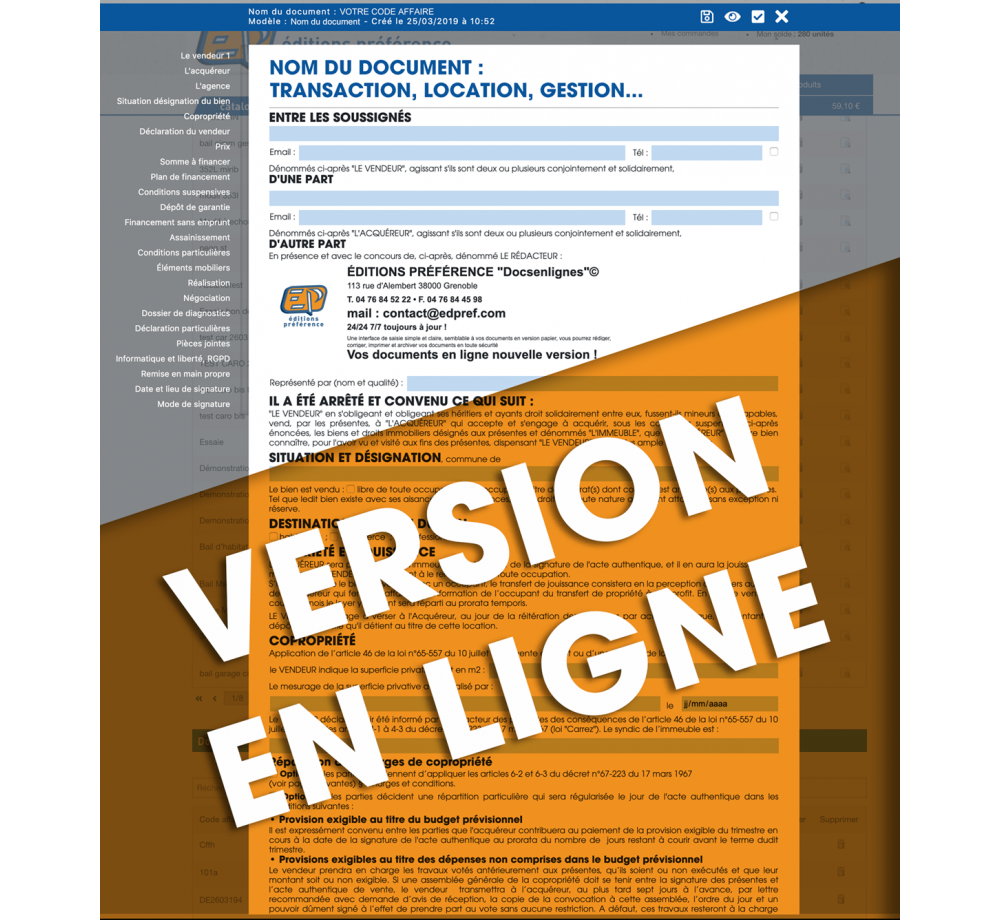 Acte De Caution Solidaire En Ligne Editions Preference