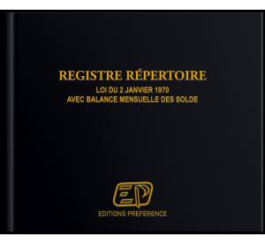 """Registre répertoire """"PLUS""""..."""