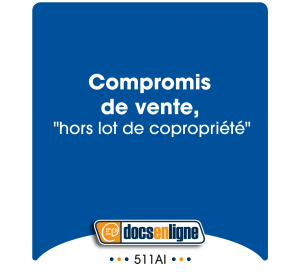 "Compromis de vente ""hors..."
