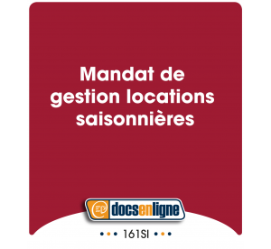 Mandat de gestion locations...
