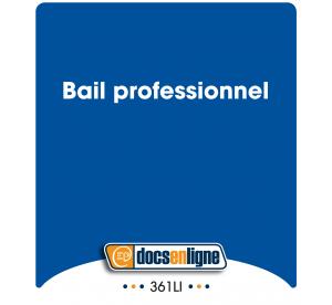 Bail professionnel, en ligne