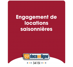 Engagement de  locations...