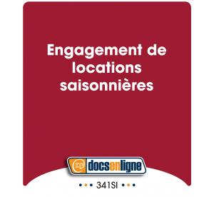 Engagement de  locations...