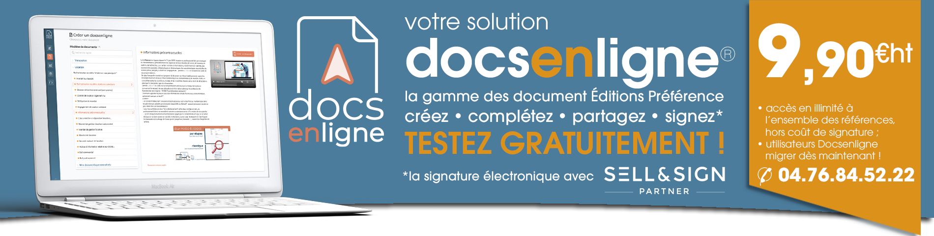 Docsenligne nouvelle version